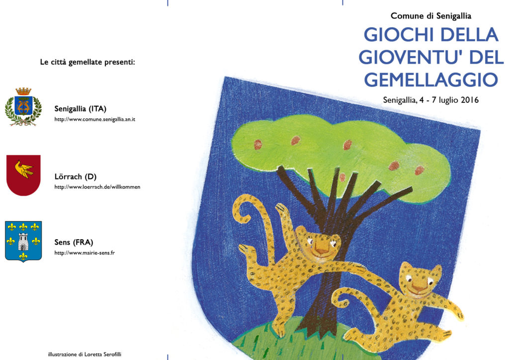 Dal 4 al 7 luglio Senigallia ospita i Giochi della Gioventù del Gemellagio