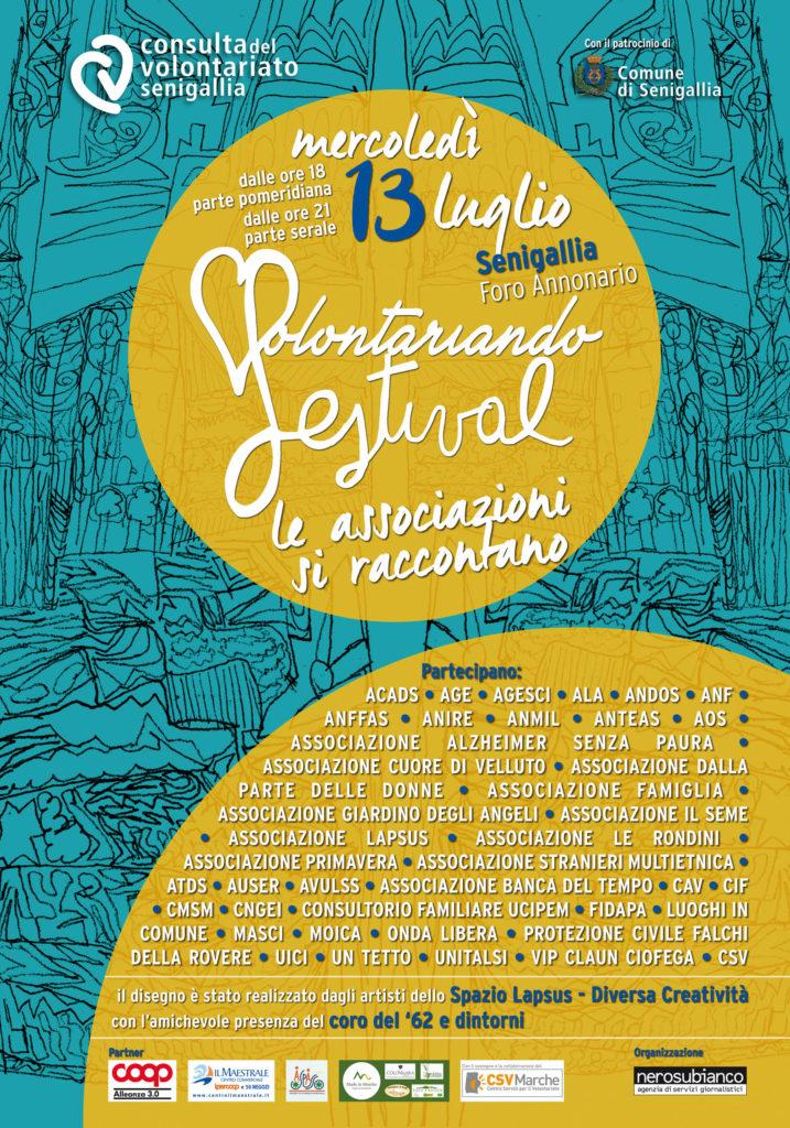 """In """"Volontariando Festival"""", a Senigallia le associazioni si raccontano"""