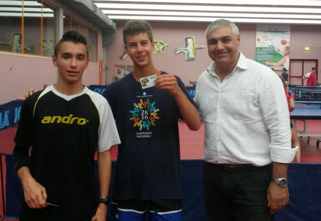 Lorenzo Fiorentini vince il 2° torneo Mare-PingPong