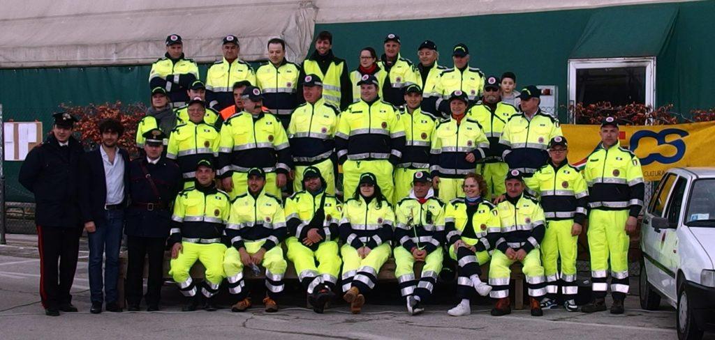 Anche la Protezione Civile di Corinaldo in soccorso delle popolazioni terremotate