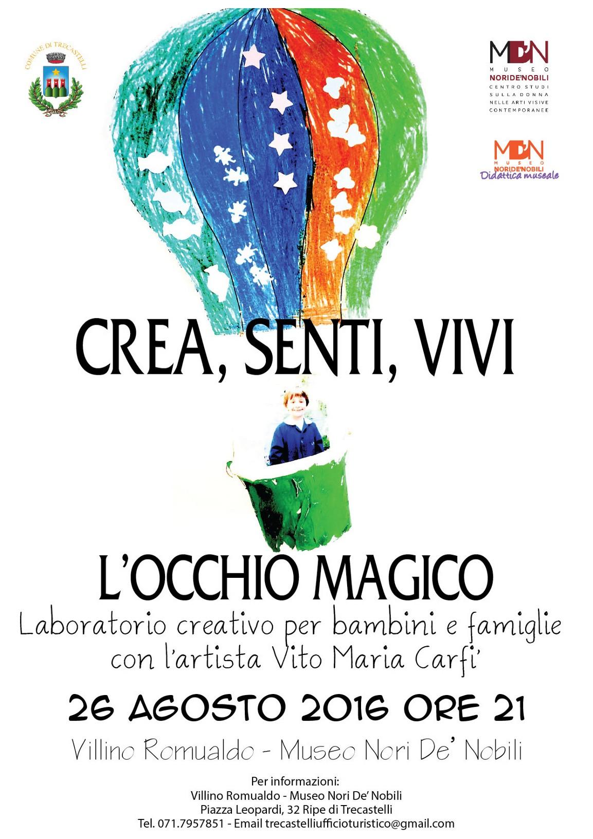 Trecastelli, al Villino Romualdo un laboratorio per bambini e famiglie