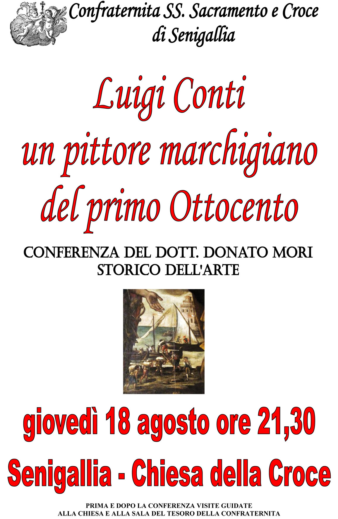Luigi Conti, un pittore marchigiano del primo Ottocento