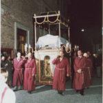 Esposto a Ostra l'ottocentesco Cataletto del Cristo Morto