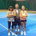Tennis, la brava Irene Biagioli ancora a segno nella sua Moie