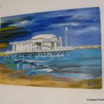 """""""Il mare e oltre"""": deliziosa mostra di pittura di Maria Luisa D'Amico e Sandra Capomagi alla """"Via Granda Art Cafè"""" di Senigallia"""