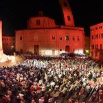 Oltre 2000 spettatori in Piazza Federico II a Jesi per l'inaugurazione del XVI Festival Pergolesi Spontini
