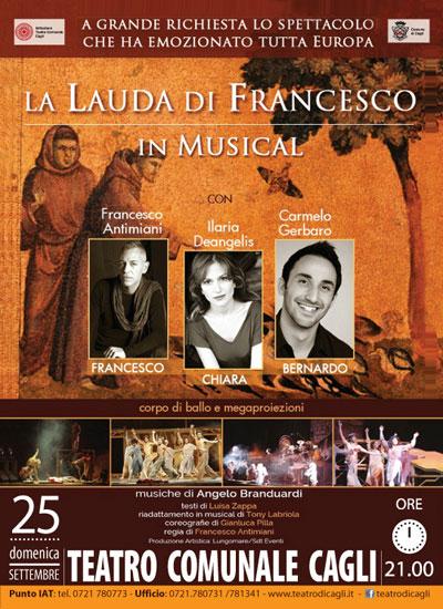 La Lauda Di Francesco In Musical A Cagli