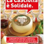 Al via nel segno della solidarietà la festa del formaggio marchigiano