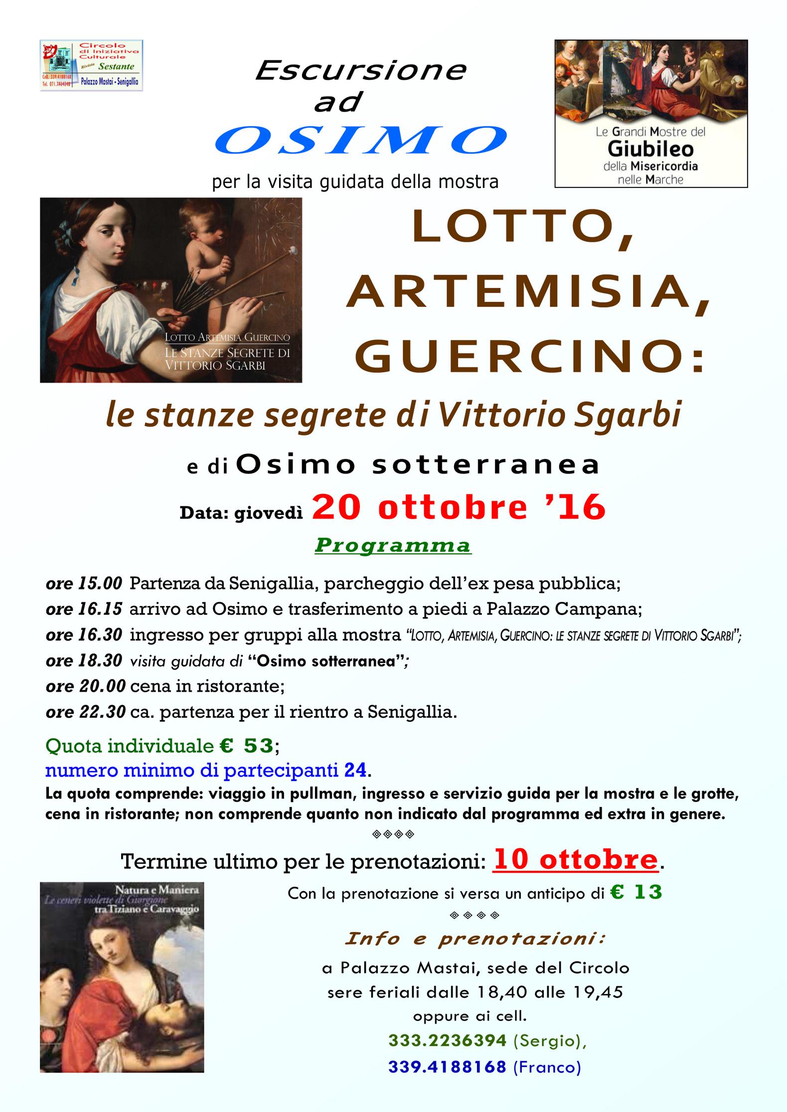 Da Senigallia alla scoperta delle Stanze segrete di Vittorio Sgarbi