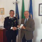 FALCONARA / Il sindaco Brandoni ha incontrato il nuovo comandante della Legione Carabinieri Marche, Generale Salvatore Favarolo