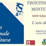 Domenica la consegna del Premio nazionale di cultura Frontino Montefeltro