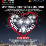 """A Senigallia è arrivato il giorno dei """"Fuochi solidali"""""""