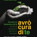 """Per la Giornata mondiale dell'Alzheimer Senigallia ospita il convegno """"avrà cura di te"""""""