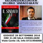 """A Monte Porzio Mauro Riccioni presenta """"Sindaco gratis"""""""