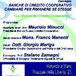 SENIGALLIA / Incontro con l'economista Stefano Zamagni