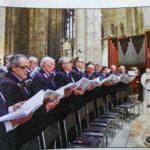 Tanti consensi per il coro dei carabinieri diretto dal maestro Massimo D'Ignazio