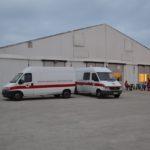 A Senigallia Croce Rossa e Protezione civile impegnate nel fine settimana in una esercitazione di due giorni