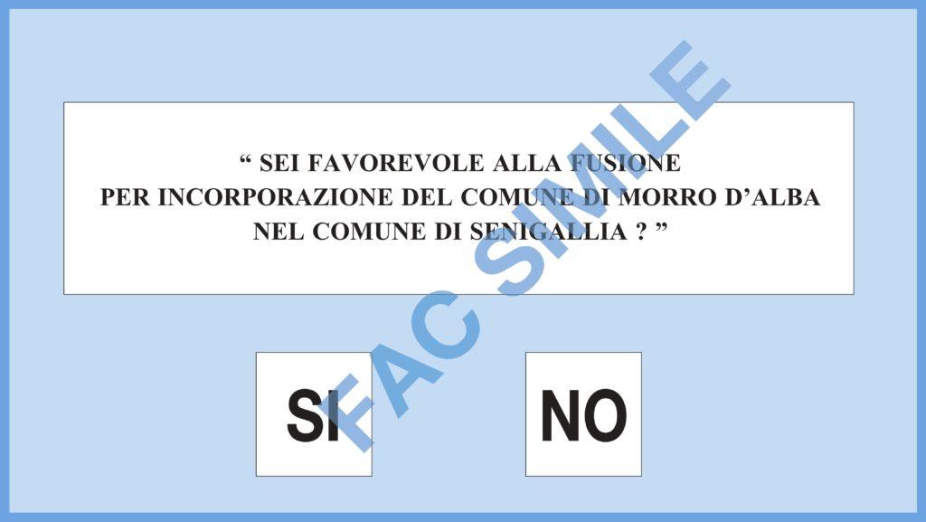 Domenica il referendum per la fusione di Morro d'Alba con Senigallia