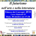 Conferenza del professor Armando Ginesi sul Futurismo nell'arte e nella letteratura