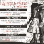 Quattro giorni di teatro a Mondavio e nelle sue frazioni