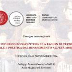 Da venerdì il convegno internazionale su Federico Bonaventura