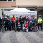 Un successo la pedalata lungo il fiume Esino