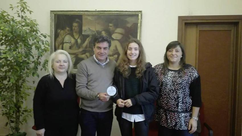 FANO / Premiati in Comune dal sindaco Massimo Seri quattro atleti che si sono distinti a livello internazionale