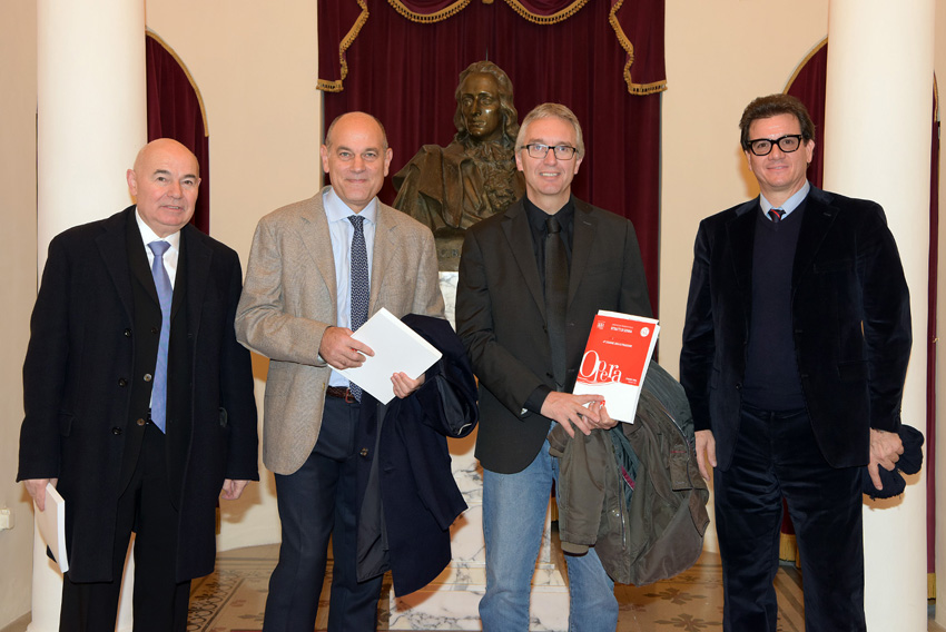 Anche il presidente Ceriscioli al Pergolesi di Jesi per l'opera Adelson e Salvini di Bellini