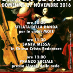 MOIE / La festa di Santa Cecilia con la Banda L'Esina