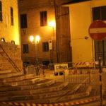 Grande impegno a Monte San Vito per rimettere a posto al più presto gli edifici lesionati dal terremoto