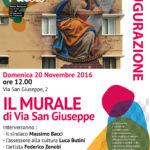JESI / Domenica si inaugura il murale di via San Giuseppe