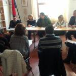SENIGALLIA / La Giunta va a Roncitelli e prende l'impegno di sistemare entro il 2017 la frana lungo la strada