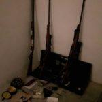 Recuperata dai carabinieri a Ponte Rio una cassaforte con fucili e munizioni