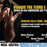 Domenica al Teatro Misa di Arcevia il nuovo spettacolo teatrale di Andrea Pierdicca