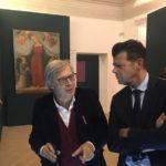 SENIGALLIA / Vittorio Sgarbi in visita alla mostra Maria Mater Misericordiae