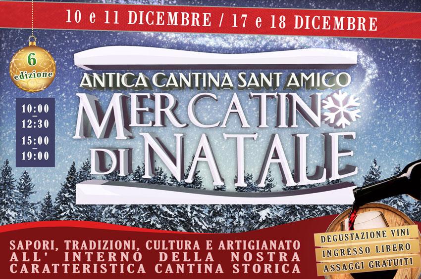 MORRO D'ALBA / Sabato e domenica l'Antica Cantina Sant'Amico ospita il Mercatino di Natale in cantina