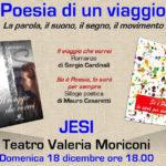 JESI / Al Teatro Moriconi va in scena Poesia di un viaggio