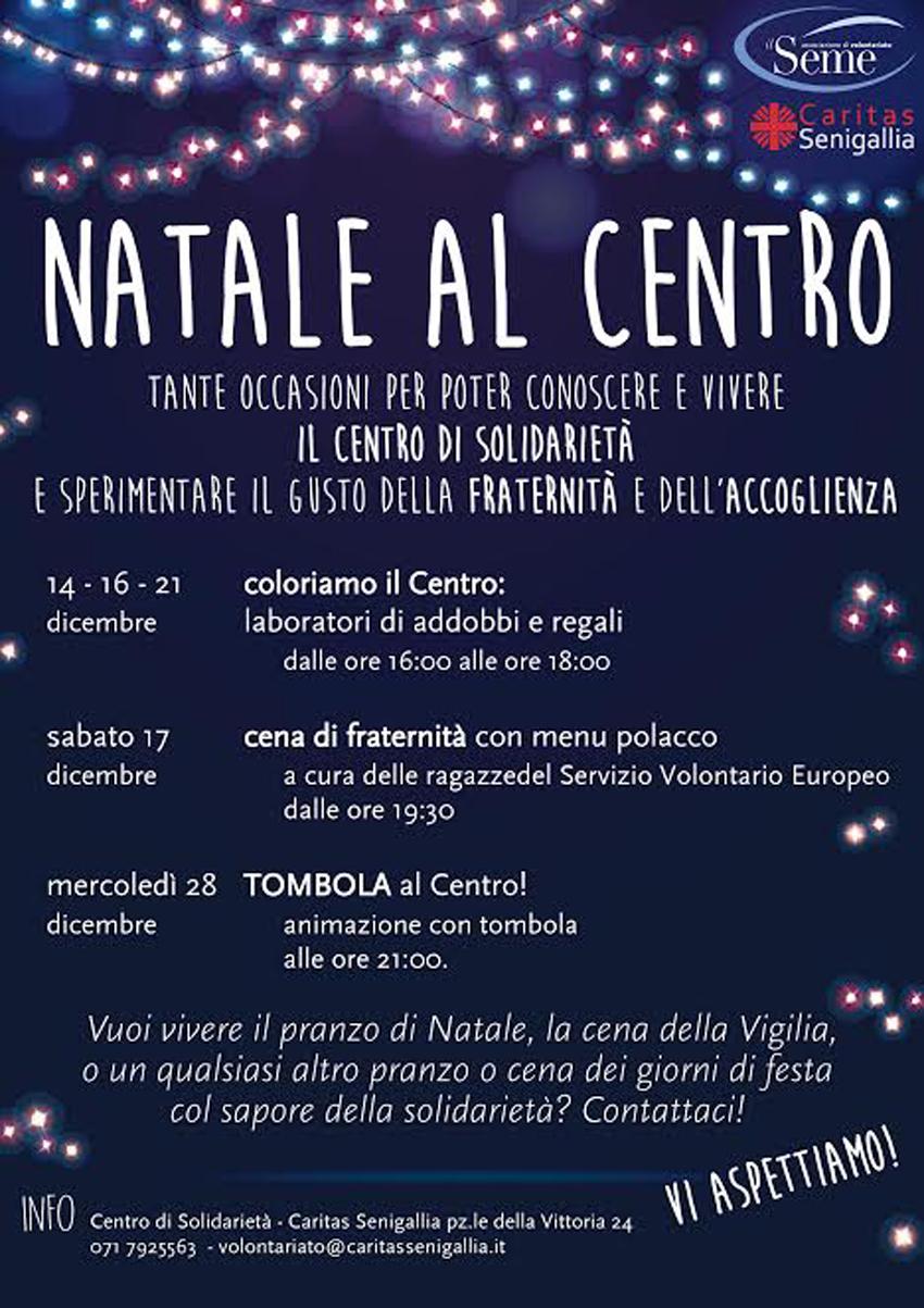 SENIGALLIA / Alla Caritas il Natale si fa speciale