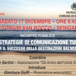 SENIGALLIA / Le strategie di comunicazione turistica al centro di un incontro a San Rocco