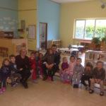 SENIGALLIA / A pranzo alla Casa dei Bambini a Scapezzano la dirigente  scolastica Fulvia Principi  e il sindaco Maurizio Mangialardi