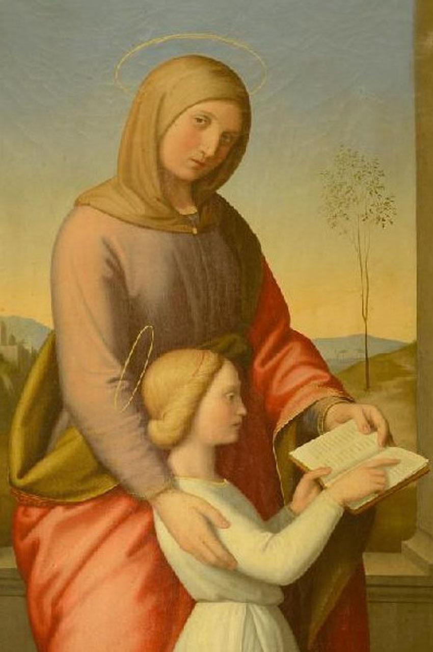 SENIGALLIA / Il prof. Gabriele Barucca presenta alla Pinacoteca diocesana l'ultima tela restaurata