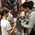 SENIGALLIA / La fiorettista Alice Volpi visita a sorpresa il Club Scherma di Montignano
