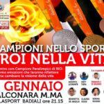 Campioni nello sport, eroi nella vita: anche Assunta Legnante mercoledì a Falconara