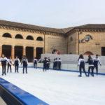 SENIGALLIA / Inaugurata al Foro Annonario una grande pista di pattinaggio sul ghiaccio