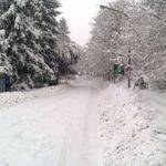 Terremoto e neve, anche giovedì scuole chiuse in molti Comuni
