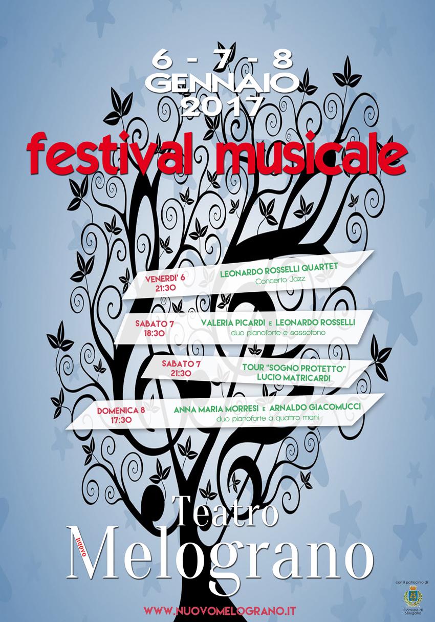 SENIGALLIA / Festival musicale al teatro Nuovo Melograno