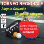 SENIGALLIA / Domenica torneo regionale di tennistavolo