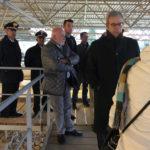 Il Prefetto di Ancona in visita a Castelleone di Suasa e alla sua area archeologica