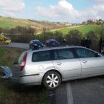 Scontro tra due auto tra Ostra e Belvedere, tre persone ferite
