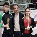 """Successi dei giovani senigalliesi al Gran Prix di Badminton """"Città 2 Mari"""" di Taranto"""